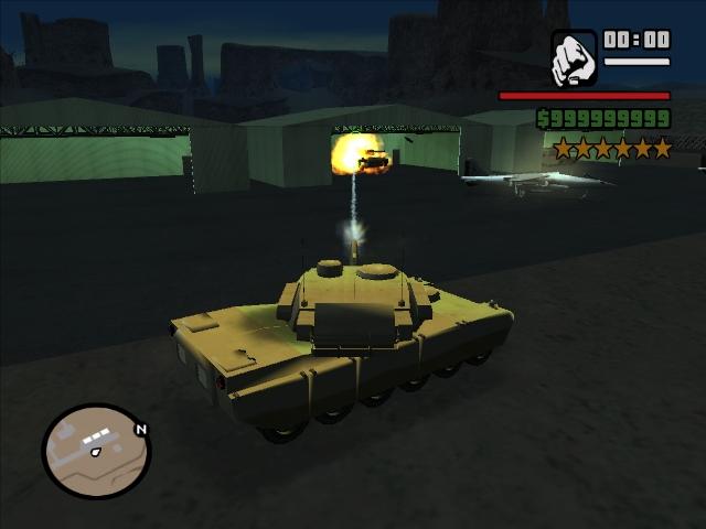 [CLEO] Mejor y más real disparo del tanque. Ss_cannon